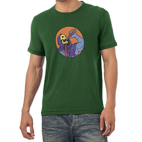 TEXLAB - Drinking Problem - Herren T-Shirt Flaschengrün