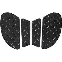 Rutschfeste Aufkleber schwarz Motorrad Tank Pad Traktion Seite Pads Gas Kraftstoff Knie Grip Aufkleber Displayschutzfolie f/ür Kawasaki Ninja 250/300/2008/2009/2010/2011/2012/2013/2014/2015/2016