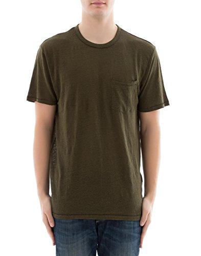 Rag & Bone Herren M282t09jv319 Grün Baumwolle T-Shirt (Und Herren Bone Rag)