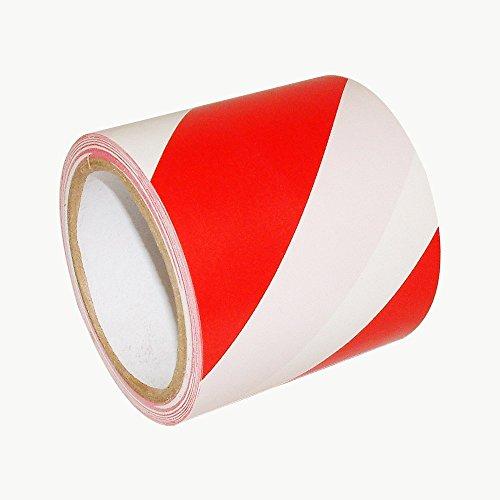 Bereich Regal (WINGONEER Warnschutzstreifen rot und weiß Ideal für Wände, Böden, Regale, Pfosten, Rohre und andere Bereiche, die Vorsicht erfordern - Breite 10 cm lang 36 Yards)