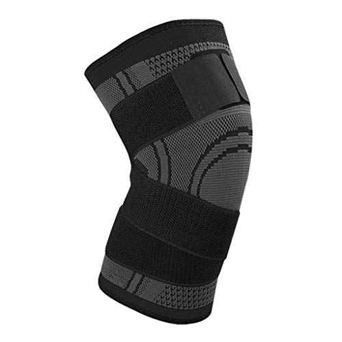 TTLOVE Kniebandage Kompression,Knie Sleeve Unterstutzung Kompression Klammer Anti Slip Schmerzlinderung Fur Sport Arthritis Patella Gelenkverletzung Recovery