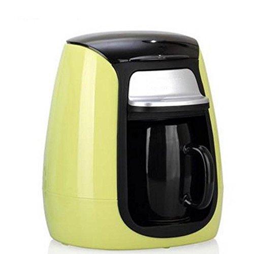 Unbekannt Kaffeemaschine Filterkaffeemaschine, Einschließlich Glaskaffeemaschine, Zum des Niveaus und der Intensität des Schleifens Justieren, Orange, Grün, Blau,B
