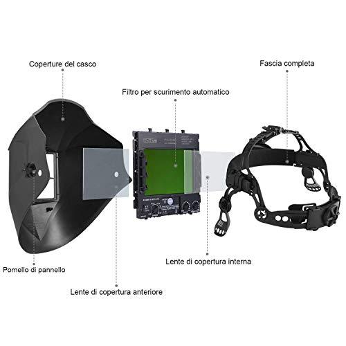 Zoom IMG-1 tacklife pah03d casco di saldatura