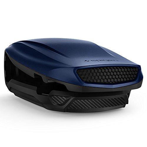 Spigen Kuel [S40] ver.2 (Turbulence), Handy Halterung Auto Horizontal Dual-Winkel Aerodynamisches Design KFZ Autohalterung fürs Armaturenbrett (Lunar Blue)