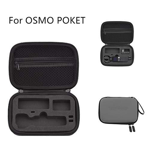 TianranRT★ Ohrringe Aufbewahrungsbox/Tragbarer Fall Für Dji Osmo Pocket Tragbarer Fall, Tragbare Aufbewahrungstasche, Grau