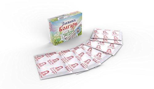 Joghurtferment für probiotischen Joghurt – 7 Beutel gefriergetrockneter Starterkulturen - 4