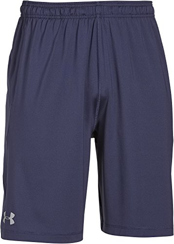 Under Armour Raid Pantaloni Corti, da Uomo, Blu (Midnight Navy), M