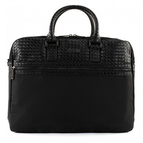 GUESS Milano Briefcase Black