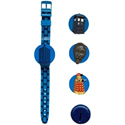 Dr Who Kids Interchangeable Head LCD Watch DR110