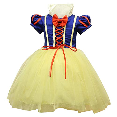 Kostüm Up Day Dress World Book - DXYQT Halloween kinderkostüm Prinzessin Kleid mädchen Anime Cosplay Maskerade Tutu Flauschige kostüme World Book Day kostüme für mädchen,Princess Dress-Height 90cm