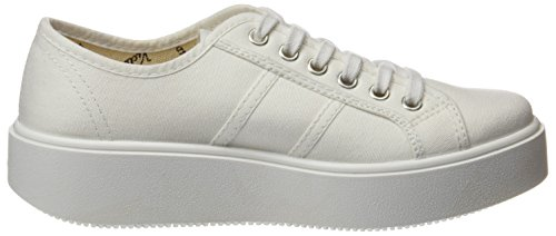 Victoria Lona, Baskets Basses Mixte Adulte Blanc (Blanco)