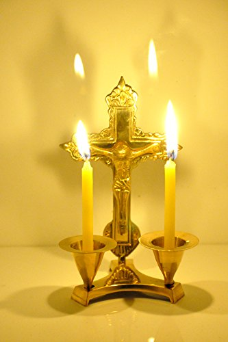 Christmas Gifts hashcart jesus cross candle stand,candle stick holder made of brass for christmas Hashcart Jesus Cross Candle Stand,Candle Stick Holder Made of Brass for Christmas 41aaB TBLKL