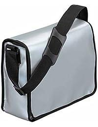 HALFAR - sac sacoche bandoulière porte documents 1802814 - gris argent - mixte homme / femme