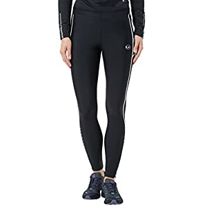 Ultrasport Damen Laufhose, lang mit Kompressionswirkung & Quick-Dry-Funktion