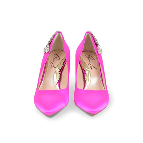 Aruna Seth , Damen Pumps neon pink