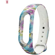 Gosuper Silicone Wrist Blet Strap Wristband Bracelet Accessories For Xiaomi Mi Band 2 Smart Watch Mi band