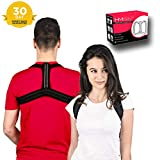 Health Magic Posture Corrector for Men and Women - Back Brace and Spinal