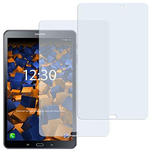 Preisvergleich Produktbild 2 x mumbi Schutzfolie für Samsung Galaxy Tab A 2016 (10.1 Zoll) Folie Displayschutzfolie