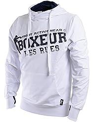 Boxeur Des Rues Fight Activewear Conjunto de Chándal Para Hombre Blanco blanco Talla:XL