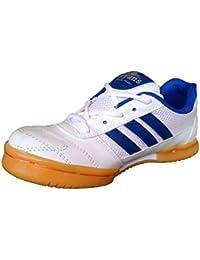 Aryans unisex Badminton shoes (white)