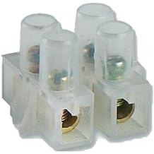 Electraline 80594 - Regleta de conexión (12 tomas, 25 mm²)