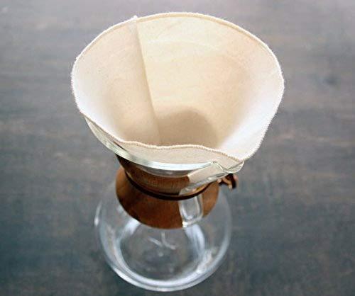 CHEMEX Kaffee Filter wiederverwendbar Bio 6Cup Stil (Set of 2). Aus Organische ungebleichte...