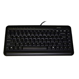 A4 Tech KL-5 Mini Slim Compact Keyboard - UK Layout