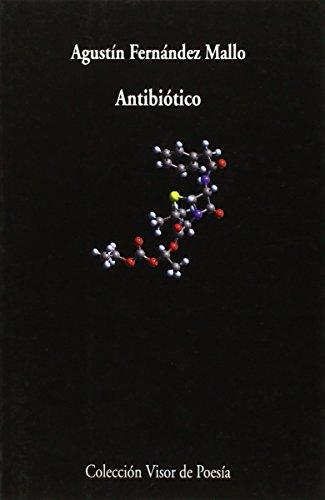Portada del libro Antibiótico (Visor de Poesía)