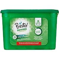 Marque Amazon- Presto! Doses de lessive  Universal, 152 Lavages (4 packs de 38 lavages)