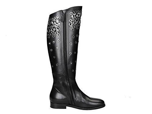ALAÏA Damen 6W3w070cb05 Schwarz Leder Stiefel