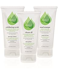 Skinfood - Refresh Your Face Pack - Includes Cleans All, Exfoliating Scrub and Mud Mask - All 100mls
