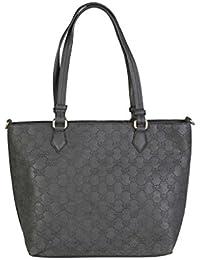 Pierre Cardin LOUIS45_29413 Handtaschen Tasche Schultertasche, schwarz - Bolso al hombro de Piel para mujer Negro negro X-Large