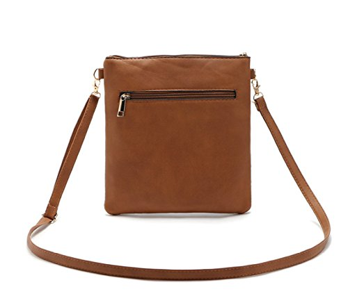 QPALZM Frau Mode Retro Gürtel Mit Einem Schulter Diagonal Paket Damen Tasche Hohlen Weiblichen Reißverschluss A3