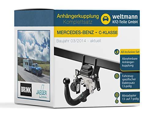 Attelage rigide Mercedes-Benz w169 A à partir de 2004-2012+e Jeu 13 BROCHES NEUF ABE