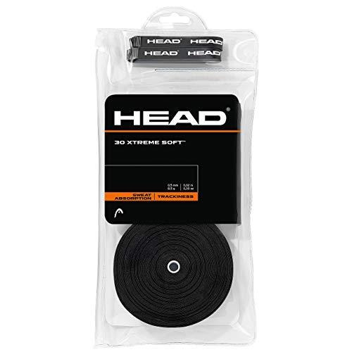 HEAD Unisex- Erwachsene 30 Xtremesoft Griffband, Black, One Size