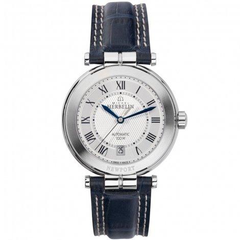 Michel Herbelin Newport Yacht Club Men's Automatic Watch blue/silver 1666/08
