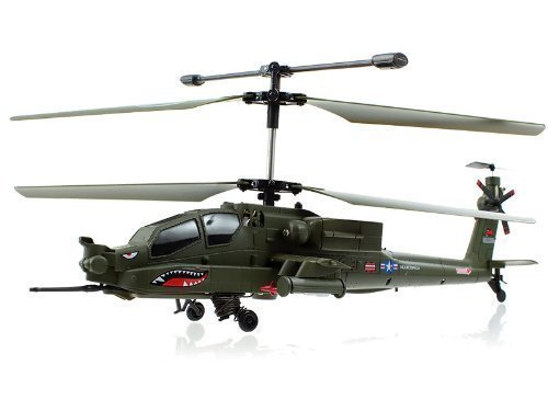 Low cost Syma S113G Apache Navy Coaxial RC Helicopter w/ Gyro  Opinions