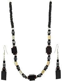 High Trendz Fashion Necklace Earrings Set Tibetan Style Beaded For Women & Girls