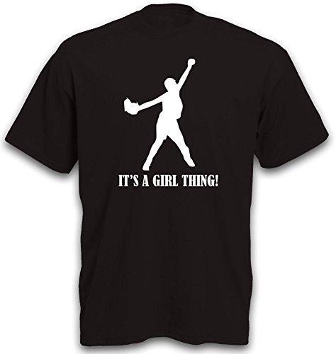 T-Shirt Softball Baseball Sportswear Homerun Völkerball Shirt Gr. XL