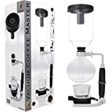 S4U® Coffee Master 5-Cup Syphon/Vacuum Glass Coffee Maker