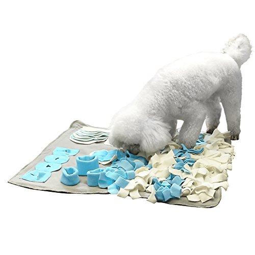 Pidsen Dog delizioso Mat Pet Snuffle cuscino training Feeding stress rilascio Pad