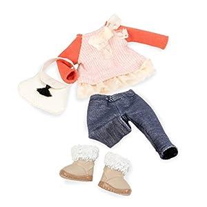 LORI LO30002Z - Ropa para muñecas - Suéter rosa