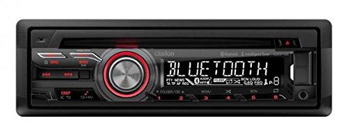 Clarion CZ315E 100W Bluetooth Noir récepteur multimédia de Voiture - Récepteurs multimédias de Voiture (1 Lignes, 2.1+EDR, A2DP,AVRCP,HFP,PBAP, 188 mm, 177 mm, 58 mm)