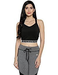 Ajile by Pantaloons Women's Solid Sports Bra