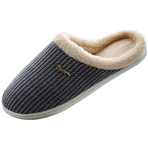 E panda Pantuflas - Unisex Zapatillas Calentitas Suela TPR Antideslizante Zapatillas Estar por Casa Hombre Mujer (38/40 EU)