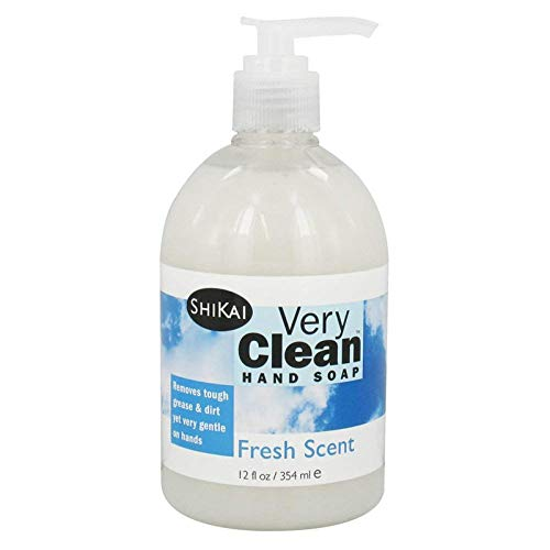 Shikai Products Hand Soap Very Clean Fresh Scent 12 Oz