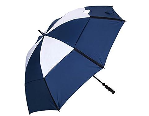 abusa parapluie de golf coupe-vent avec double auvent de vent