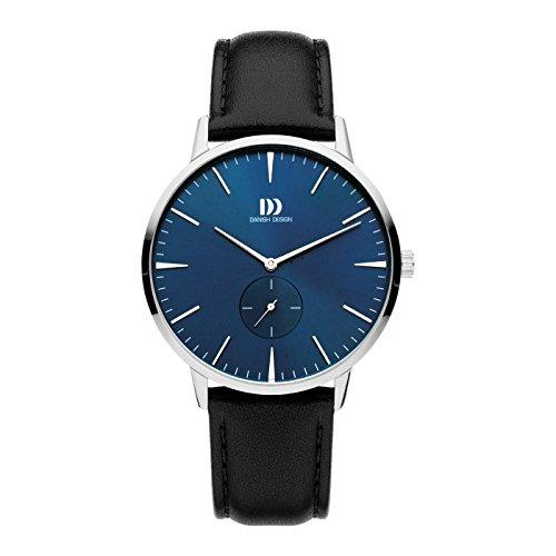 Danish Design Reloj Analógico para Hombre de Cuarzo con Correa en Cuero IQ22Q1250