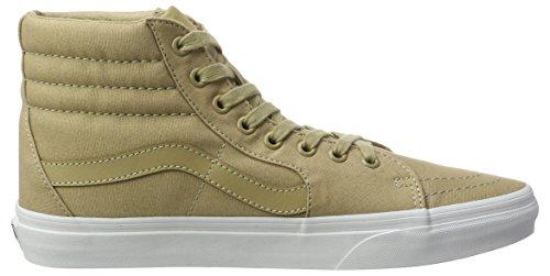 Vans Herren Ua Sk8-Hi Hohe Sneakers Beige (Mono Canvas Khaki/true White)