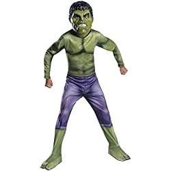 Avengers - Disfraz Hulk Ragnarok Classic infantil, S (Rubie's Spain 640152-S)